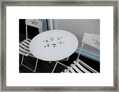 British Cafe Framed Print by JAMART Photography