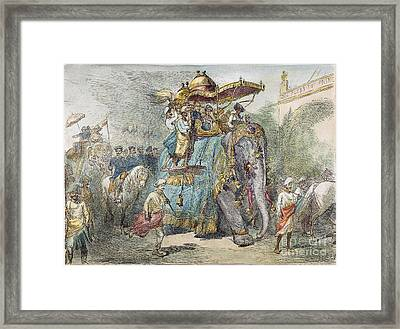 British In India, 1875 Framed Print by Granger