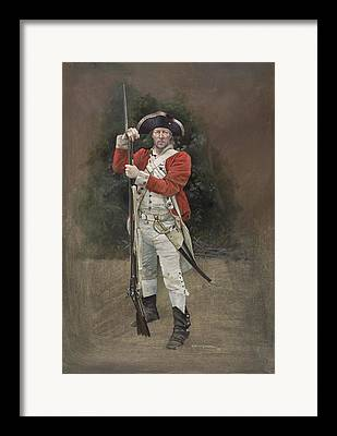 47th Brown Bess Paintings Framed Prints