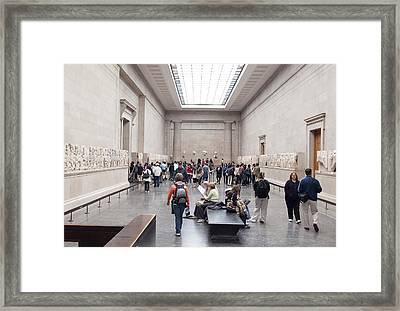 British Museum Gallery 0056 Framed Print by Charles  Ridgway