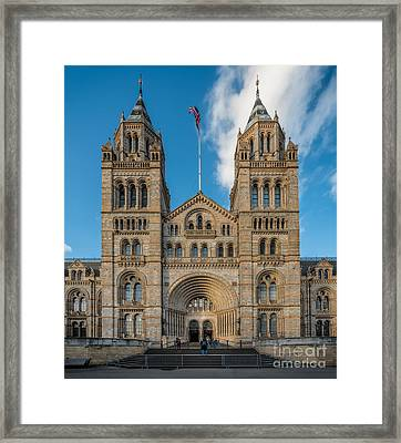 British Museum London Framed Print by Adrian Evans