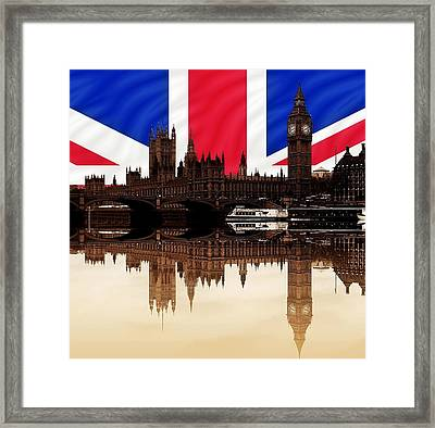 British Politics Framed Print by Sharon Lisa Clarke