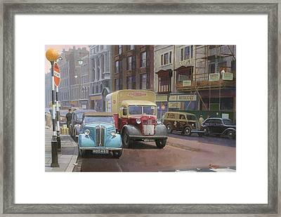 British Railways Austin K2 Framed Print by Mike  Jeffries