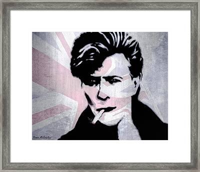 British Rock Framed Print