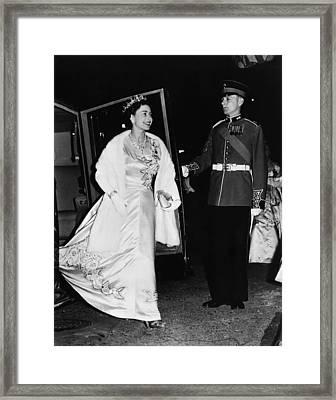 British Royalty. Queen Elizabeth II Framed Print