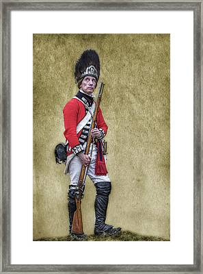 British Soldier American Revolution Framed Print by Randy Steele