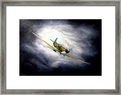 British Spitfire Mk. 1a Framed Print