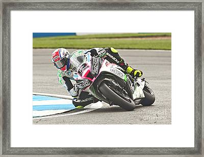 British Superbikes Framed Print by Peter Hatter