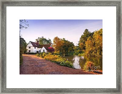 British Village Framed Print by Svetlana Sewell