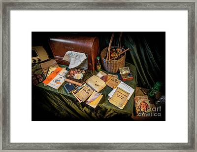 British War Memorabilia  Framed Print