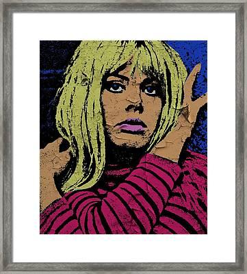 Britt Ekland-4 Framed Print