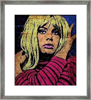 Britt Ekland-4a Framed Print