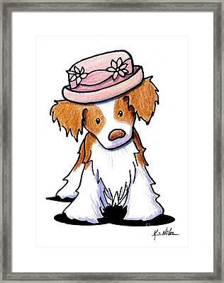 Brittany Girl Framed Print