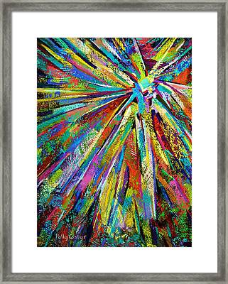 Brittle Enthusiasm Framed Print