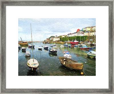 Brixham Devon Framed Print