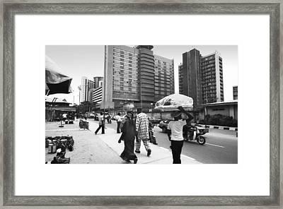 Broad Street -- Fmbn Framed Print