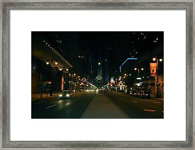 Broad Street Beauty  Framed Print by Brynn Ditsche