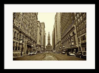 City Hall Framed Prints
