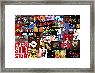 Broadway 3 Framed Print by Andrew Fare