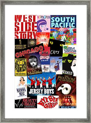 Broadway 8 Framed Print