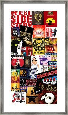 Broadway 9 Framed Print