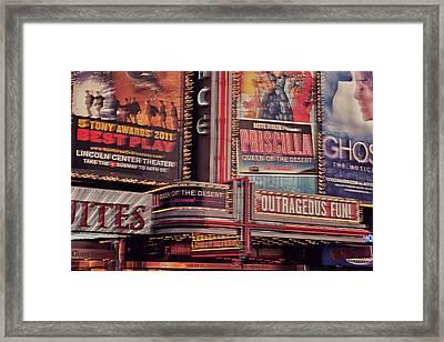 Broadway Framed Print by Benjamin Matthijs