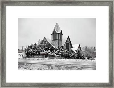 Broadway Church Spokane Framed Print