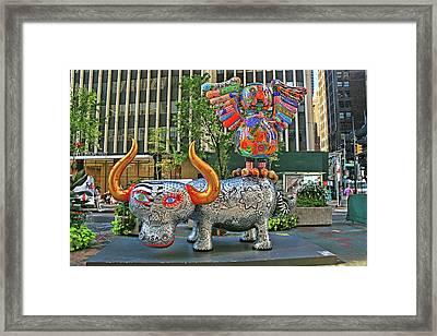 Broadway Fancy Animal Carnival # 3 Framed Print
