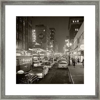 Broadway Framed Print by Unknown