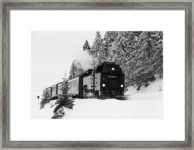 Brockenbahn, Harz Framed Print