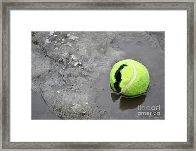 Framed Print featuring the photograph Broken And Alone by Traci Cottingham