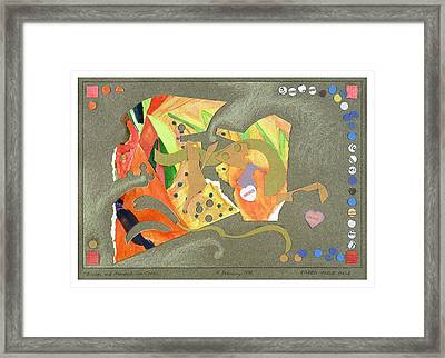 Broken And Mended Framed Print by Eileen Hale