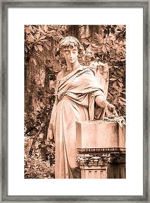 Broken Angel Framed Print