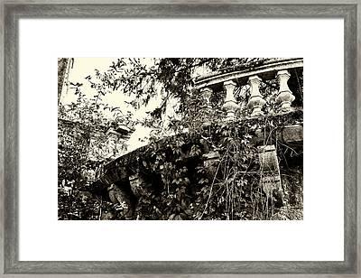 Broken Balcony Framed Print