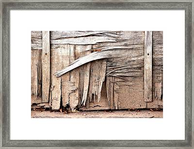 Broken But Beautiful Framed Print