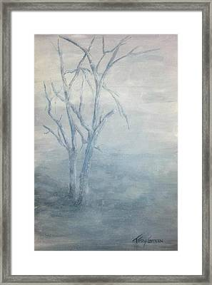Broken But Still Standing Framed Print