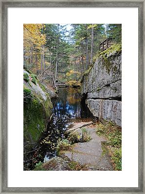 Broken Framed Print by Clay Peters Photograhy