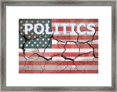 Broken Country Framed Print by Dan Sproul