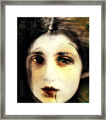 Framed Print featuring the digital art Broken by Delight Worthyn