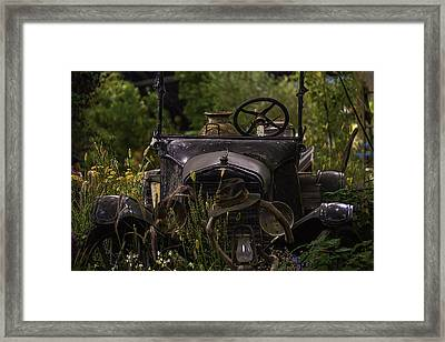 Broken Down And Forgotten Framed Print by Garry Gay