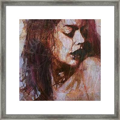 Broken Down Angel Framed Print