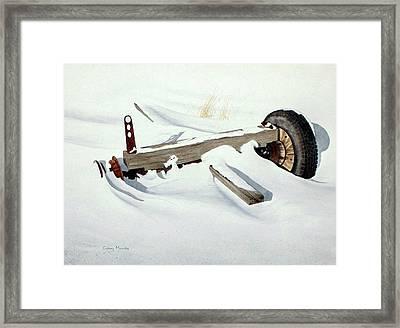 Broken Dreams Framed Print by Conrad Mieschke