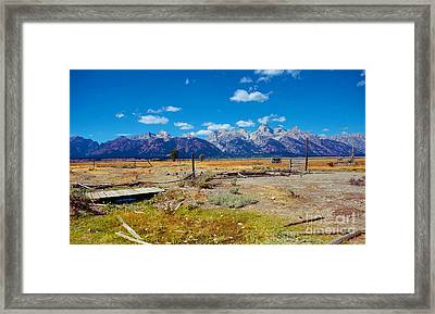Framed Print featuring the photograph Broken Dreams by Robert Pearson
