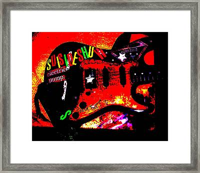 Broken Epi Framed Print by Curt Curt