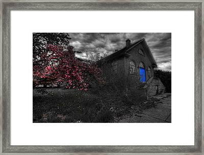 Broken Faith Framed Print by Shelley Neff
