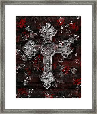 Broken Faith Framed Print