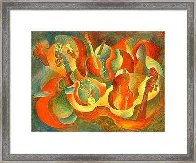 Broken Fiddle Framed Print