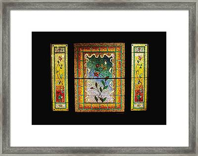 Broken Flowers Framed Print