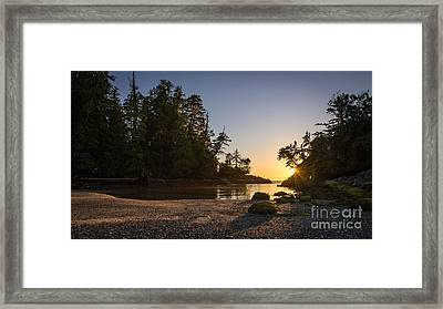 Broken Group Islands Framed Print by Dragonfly 'n' Brambles Imagery