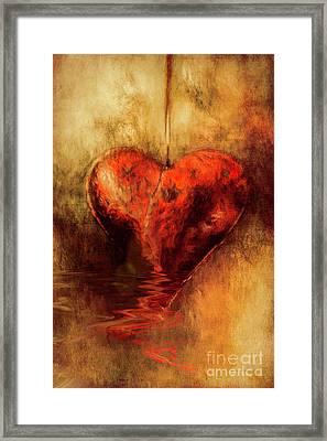 Broken Hearted Framed Print